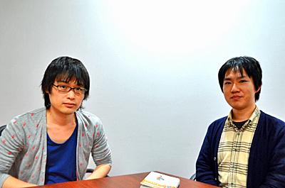 荻上チキさん(左)と棚園正一さん(右)