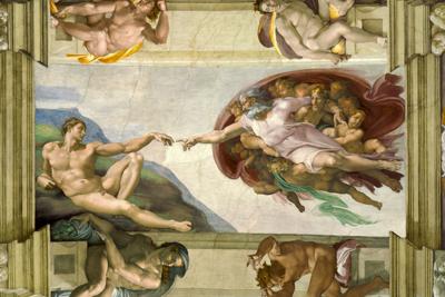「アダムの創造」