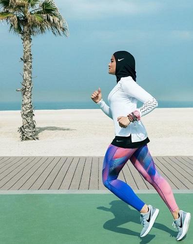 Nike Pro Hijab公式instagramより
