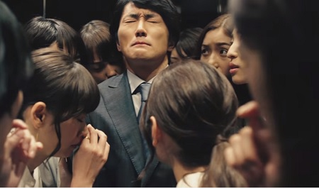 【ファブリーズMEN】エレベータートラップより
