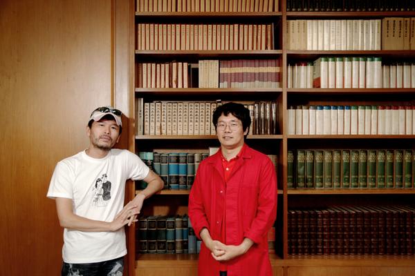 (左/樋口毅宏さん、右/劔樹人さん)