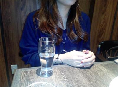 今日の上京女子・アミ(34)