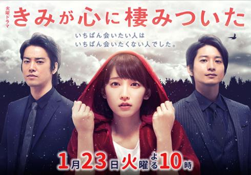 吉岡里帆主演『きみが心に棲みついた』に視聴者困惑! DV、共依存のすさまじいドロドロ闇展開の画像1