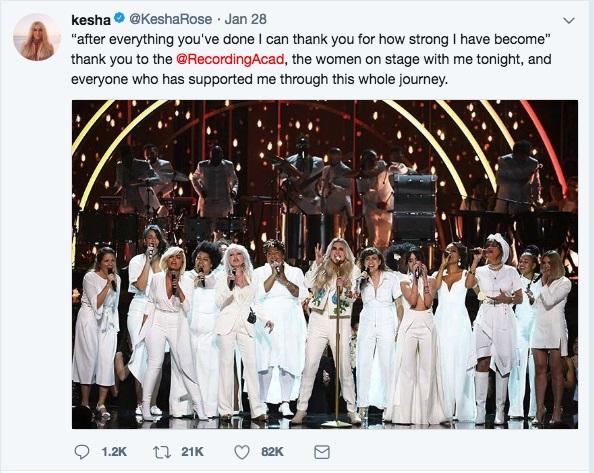第60回グラミー賞は社会的メッセージの場となった〜女性・マイノリティ・移民・銃・トランプの画像1
