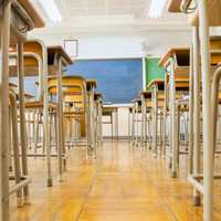Classroom Low Angle