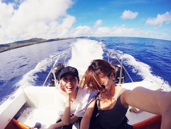 戸田恵梨香の休日は超アクティブ!! タフな心身を維持する「海・運動・食事」の画像2