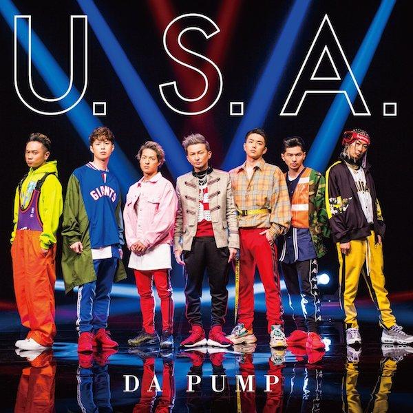 DA PUMPの29thシングル「U.S.A.」(初回生産限定盤A)のジャケット。レーベルはエイベックス傘下のSONIC GROOVE。