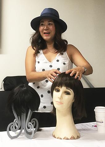 「抗がん剤治療で髪が抜けたら…」NYの乳がん患者支援日本語プログラムSHAREの画像2