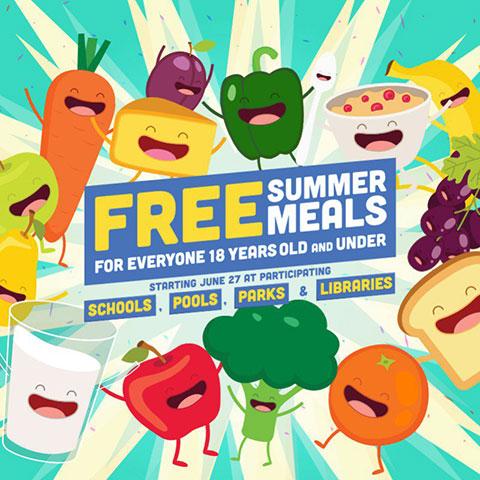NY:貧困世帯の子供を救う食料支援!〜夏休みも無料のサマーミールの画像1