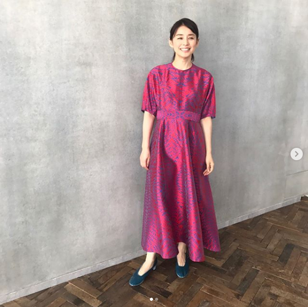 石田ゆり子Instagramより