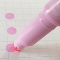 「プレイカラードット」点々を打つことに特化した新しいアイデアのサインペン - wezzy|ウェジー